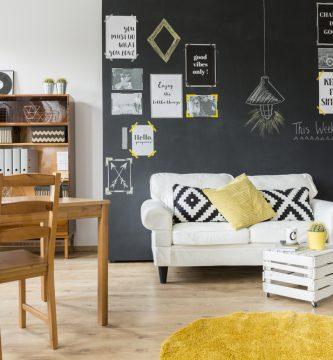 decoracion con alfombras redondas