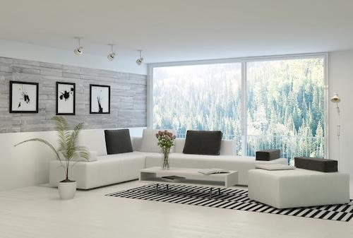 decoracion con alfombras en salas