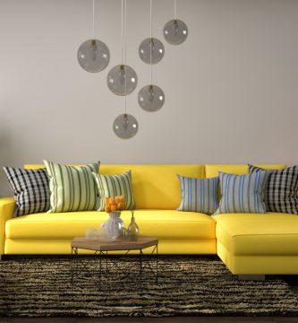 decoracion con alfombras y cojines