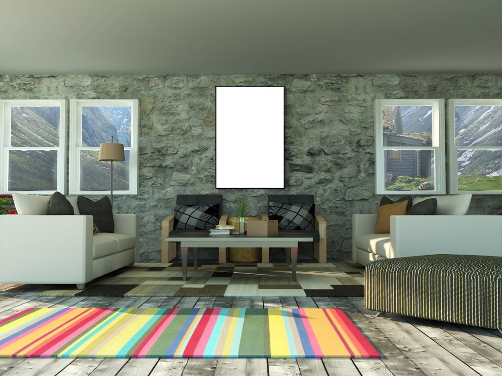 color para una alfombra